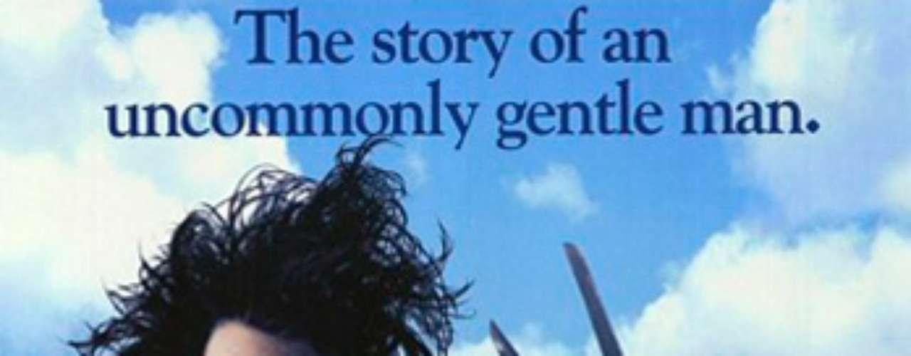 ROMÁNTICAS: Edward Scissorhands - Hombre manos de tijera, 1990. Durante una noche de Navidad, una anciana le cuenta a su nieta la historia de Eduardo Manostijeras (Johnny Depp), un muchacho creado por un extravagante inventor que no pudo acabar su obra, dejando al joven con cuchillas en lugar de dedos. Una historia de Tim Burton.