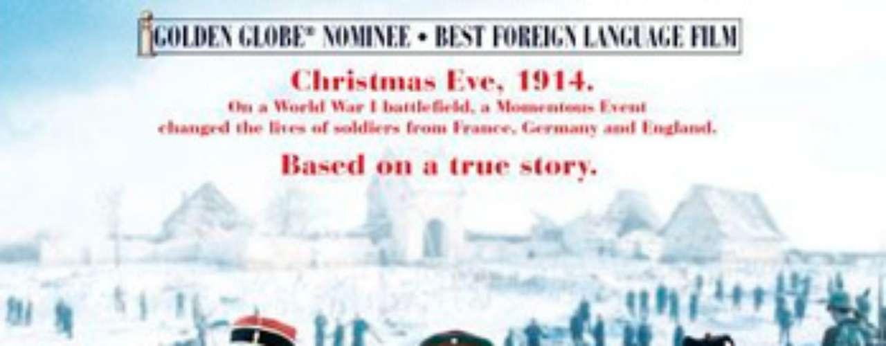 CLÁSICAS: Joyeux Noël- Feliz Navidad, 2005. Basada en un hecho real, narra cómo durante una Navidad de la Primera Guerra Mundial, concretamente en diciembre de 1914, soldados alemanes, franceses y escoceses entierran sus diferencias y sus muertos y se ponen a jugar al fútbol. Un film candidato por Francia al Oscar a la mejor película de habla no inglesa.