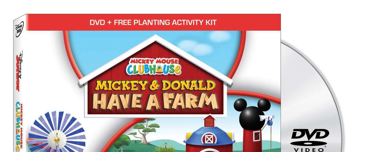 MICKEY MOUSE CLUBHOUSE: MICKEY AND DONALD HAVE A FARM. Justo a tiempo para la temporada de regalos de navidad, The Walt Disney Studios invita a todos a sumarse a los amigos del \