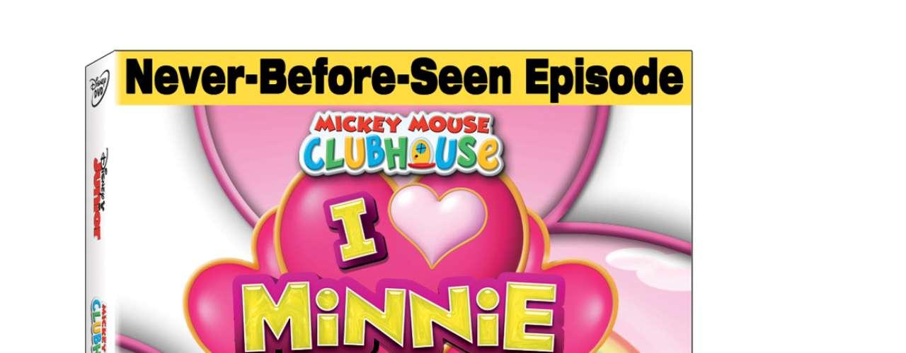 MICKEY MOUSE CLUBHOUSE: I LOVE MINNIE The Walt Disney Studios invita a todo el mundo a comenzar la fiesta a medida que toda la pandilla del Club de Mickey Mouse -Daisy, Mickey, Donald y Goofy- celebra el cumpleaños de Minnie Mouse. Estrenándose por primera vez en DVD y copia digital, Mickey Mouse Clubhouse: I LOVE Minnie incluye cinco episodios cargados de diversión -cada uno de ellos destaca los temas de la amistad, el trabajo en equipo, compartir y resolver problemas- incluye contenido adicional completamente inédito: \