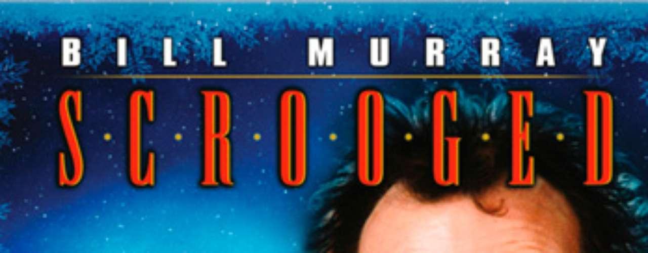 CLÁSICAS: Scrooged, 1988. La desbordante alegría de las fiestas de Nochebuena va a hacer que Frank Cross sufra alucinaciones fantasmagóricas en esta divertida sátira de \