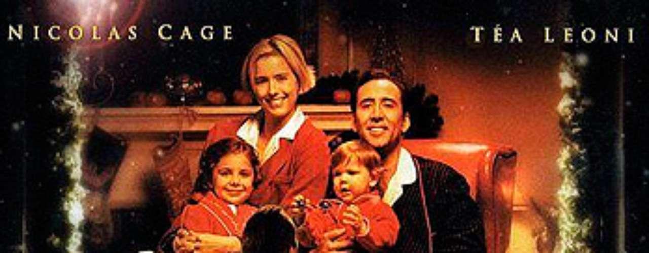 ROMÁNTICAS: The Family Man- Hombre de Familia, 2000. Jack Campbell (Nicolas Cage) es un egocéntrico broker de Wall Street cuya única obsesión es el trabajo y una vida llena de lujo. Un día, tras un incidente en una tienda durante la Nochebuena, se despierta viviendo otra vida alternativa: ahora es un humilde vendedor de neumáticos de Nueva Jersey, casado con su antigua novia Kate.