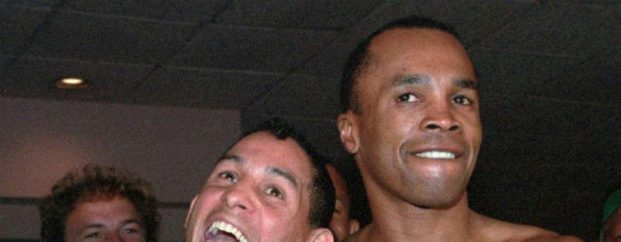 A pesar de su rivalidad, 'Macho' Camacho y Sugar eran grandes amigos fuera del ring.