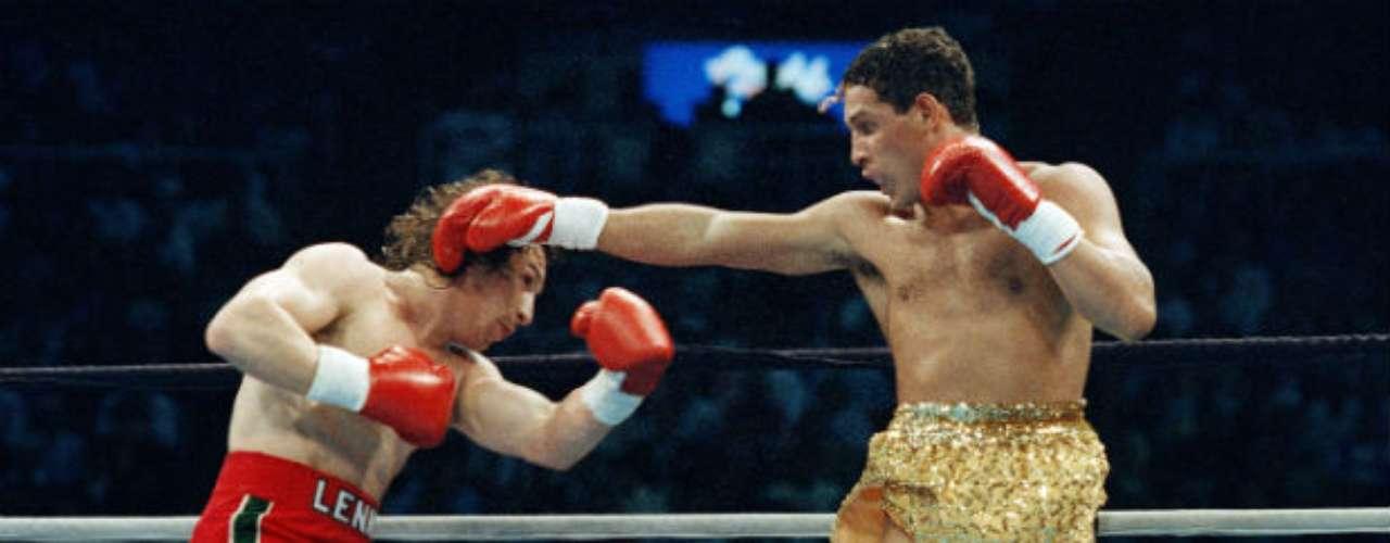 'Macho' Camacho derrotó Ray 'Boom Boom' Mancini a principios de la década de los 90.