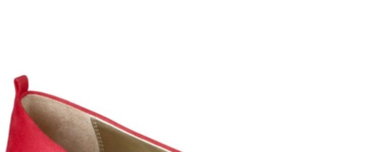 Fabulosas flats rojas ideales para las fiestas. 25 dólares en target.com
