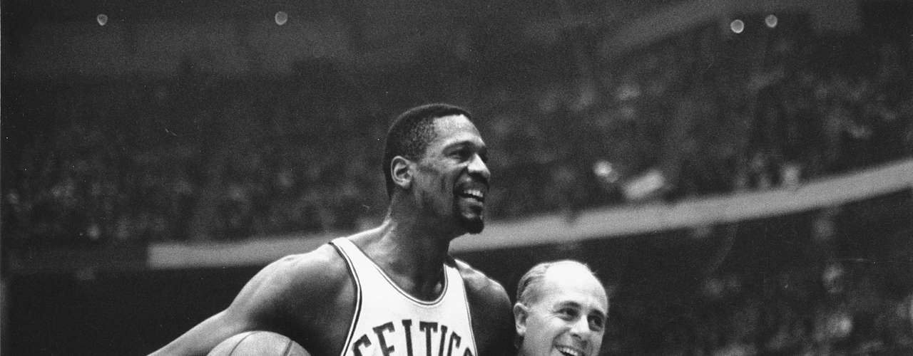 8: Asked what the greatest dynasty in sports may be is always controversial, but no team has ever been able to match the streak of the Boston Celtics with 8 consecutive titles between 1959 and 1966.