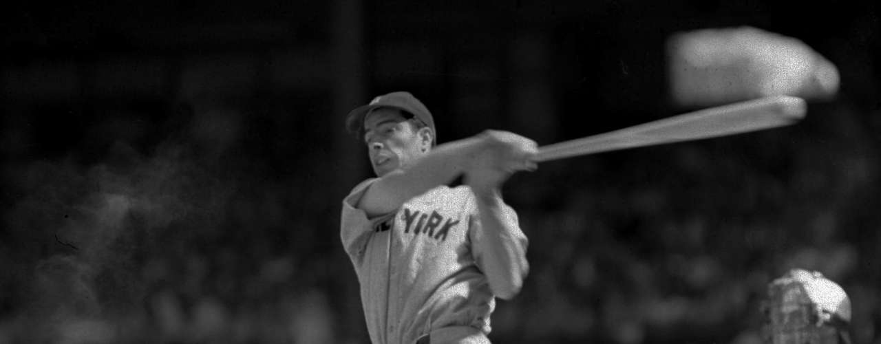 56: One of the most revered records in sports is Joe Dimaggio's untouchable hitting streak. The Yankees legend holds the record with 56 straight games. The closest any one has come since was Pete Rose 44 straight games in 1978.