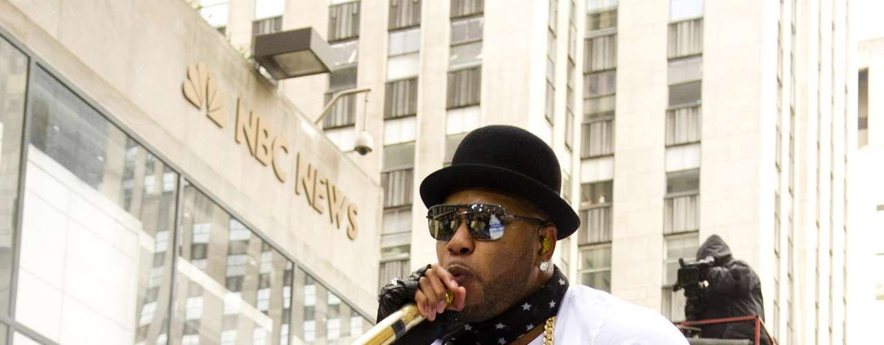 Flo Rida rocks on NBC's \