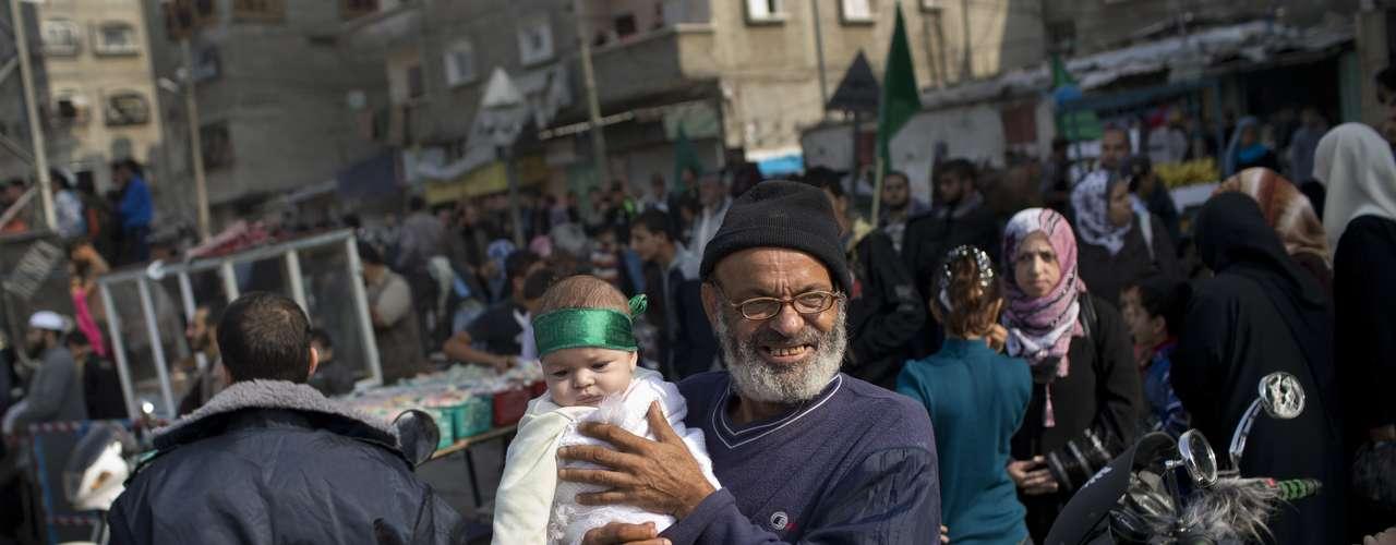 Gaza celebró este jueves unida lo que considera una \