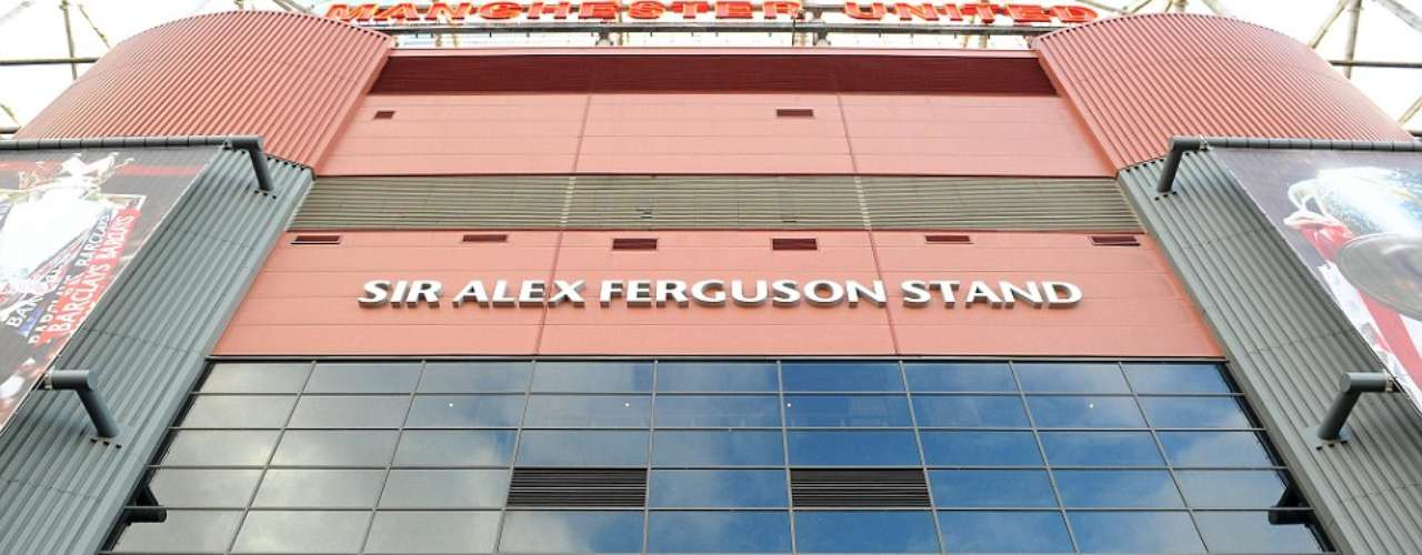 The statue is located just outside of the ' Sir Alex Ferguson Stand'.