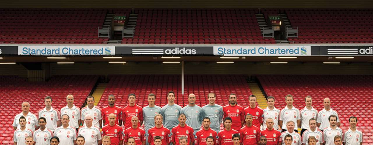 En Inglaterra, el Liverpool es un conjunto emblemático.