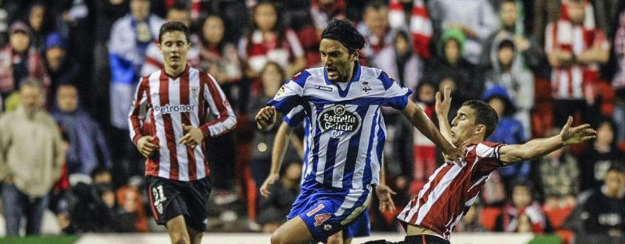 Athletic y Deportivo La Coruña igualaron 1-1 en San Mamés.