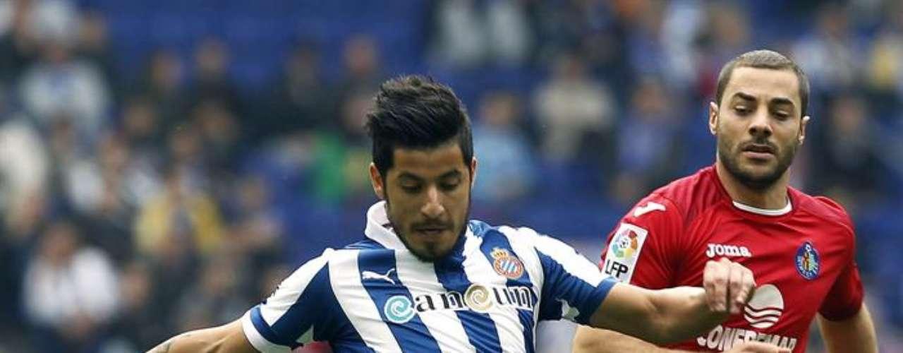 Espanyol, sumido en problemas de descenso luego de caer 0-2 contra el Getafe.