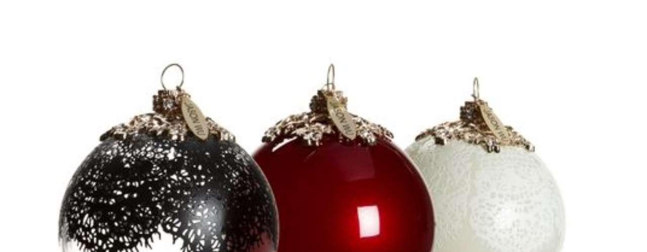Jason Wu: ornamentos navideños, $49.99 (set de 3)
