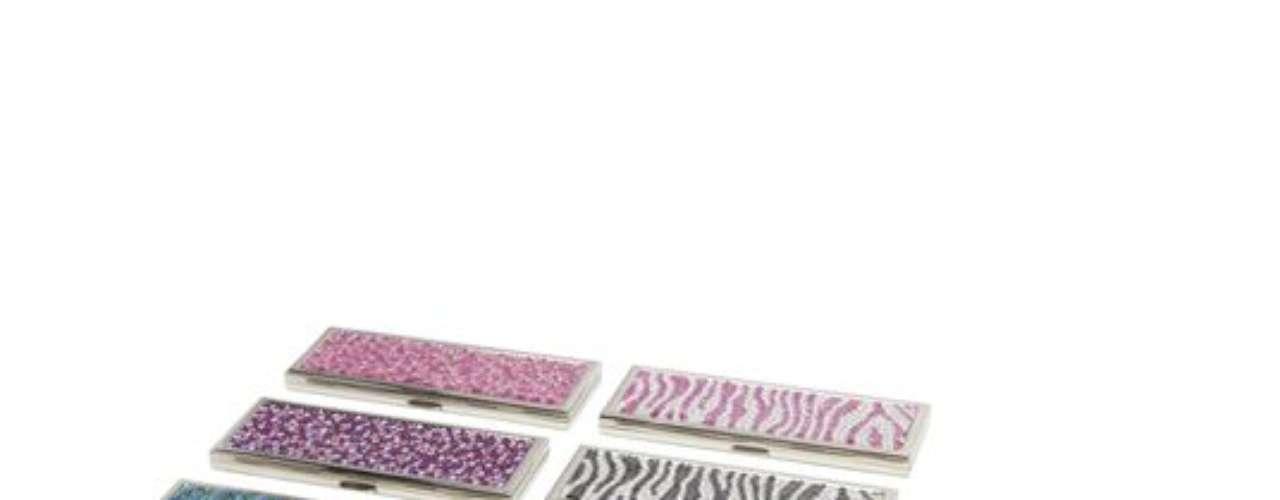 Judith Leiber: espejitos compactos, $59,99 (cada uno)