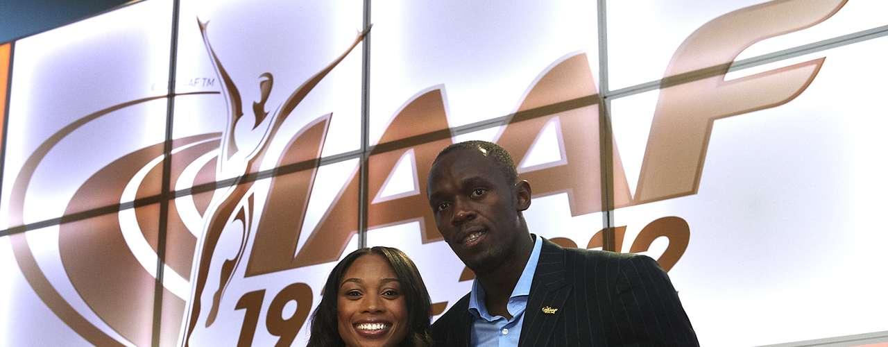 Más temprano, el seis veces campeón olímpico recibió el premio de Atleta Masculino del Año junto con Alisson Félix quien ganó la designación en la rama femenina.
