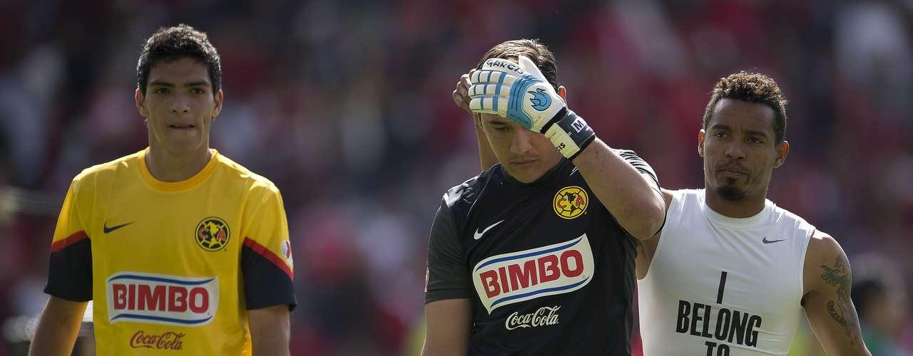 América intentó pero al final fue eliminado del Apertura 2012