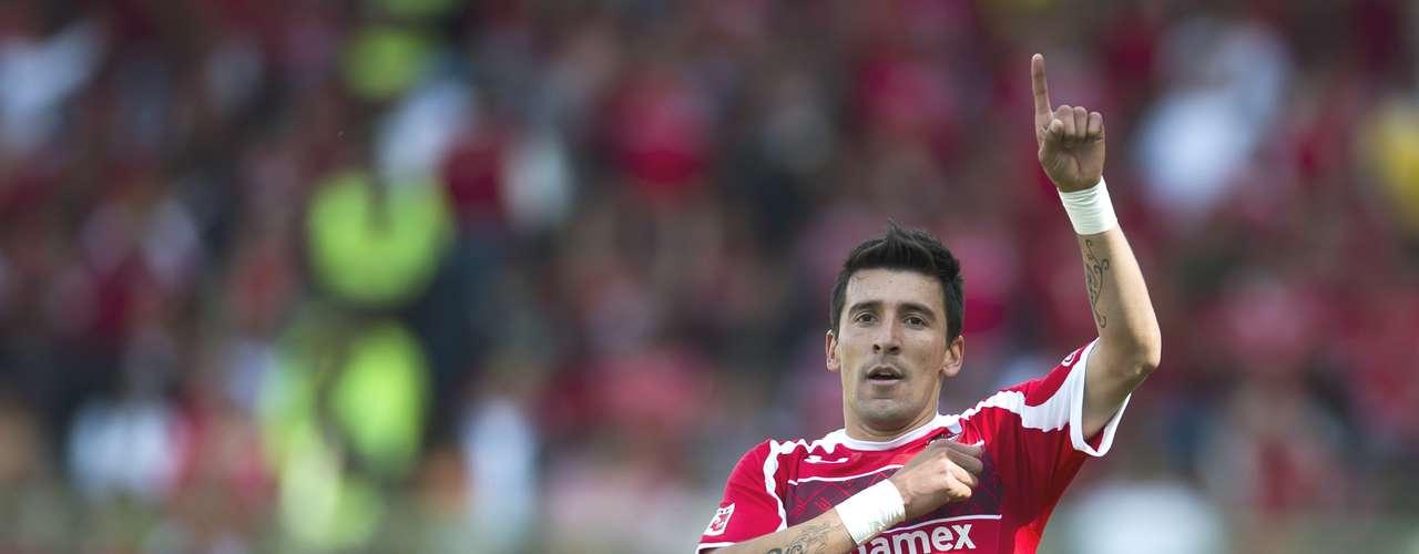 Delantero - Edgar Benítez - Toluca. El 'Pajaro' fue la figura de las semifinales, en ambos partidos entró de cambio para hacer gol y comandar el pase de los Diablos a la Final