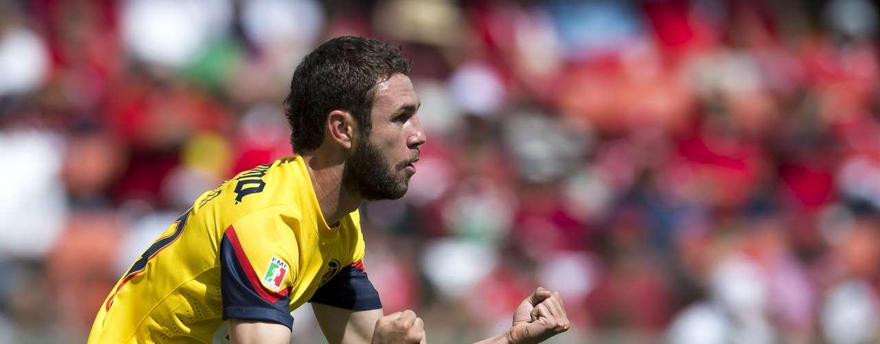 Lateral por izquierda - Miguel Layún - América. Miguel Herrera mandó de inicio a Layún en el juego de vuelta y marcó el primer gol que le dio esperanzas a las águilas