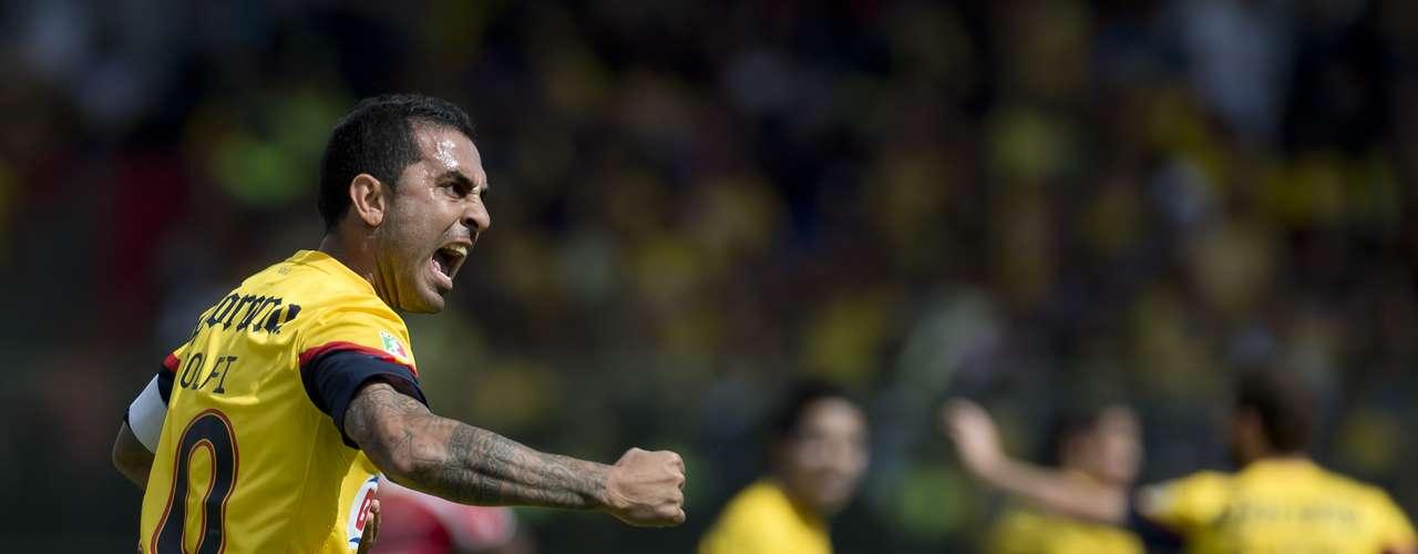 Miguel Layún y Daniel Montenegro pusieron el marcador 2-0 a favor de las Águilas en el primer tiempo, pero les fataba uno para avanzar