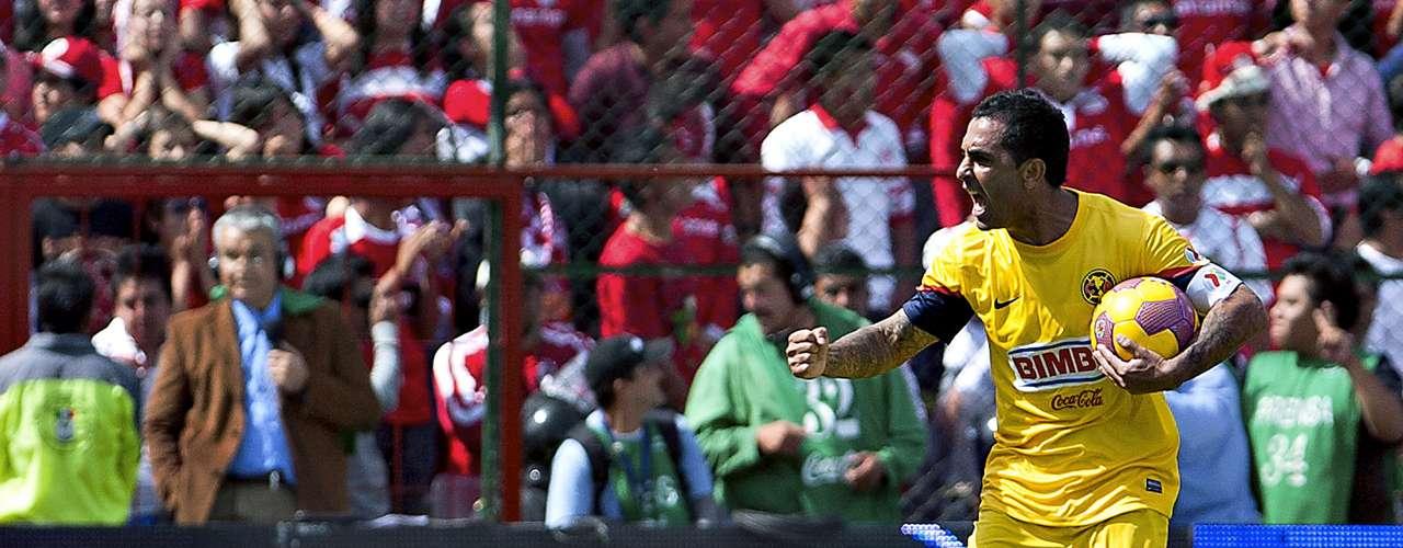 Volante ofensivo - Daniel Montenegro - América. El 'Rolfi' dio uno de sus mejores partidos en la vuelta de las semifinales y marcó el segundo gol que puso a temblar a todo Toluca