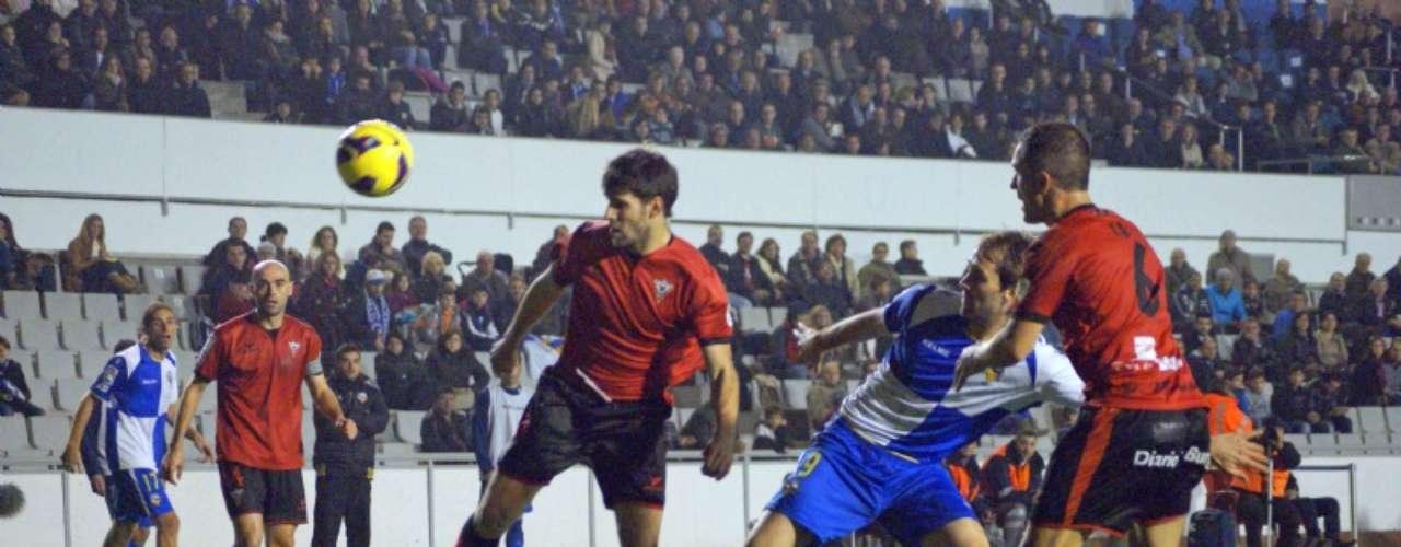 Aníbal Zurdo entró al 57', pero no pudo ayudar mucho al Sabadell.