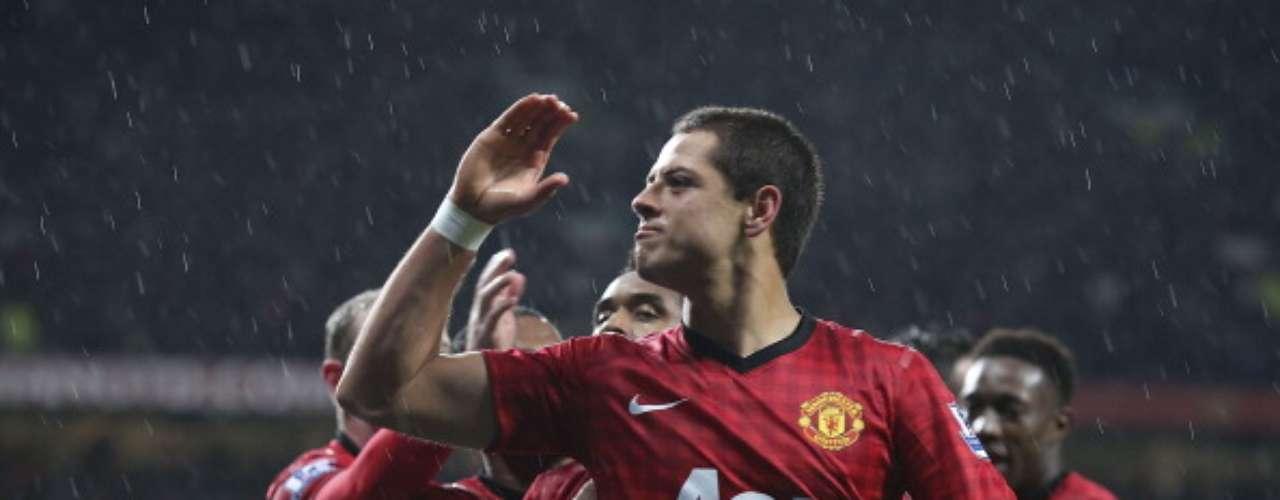 Javier Hernández entró al minuto 59', cuando el United caía 0-1 ante el QPR; el tapatío selló el 3-1 final al 68'.