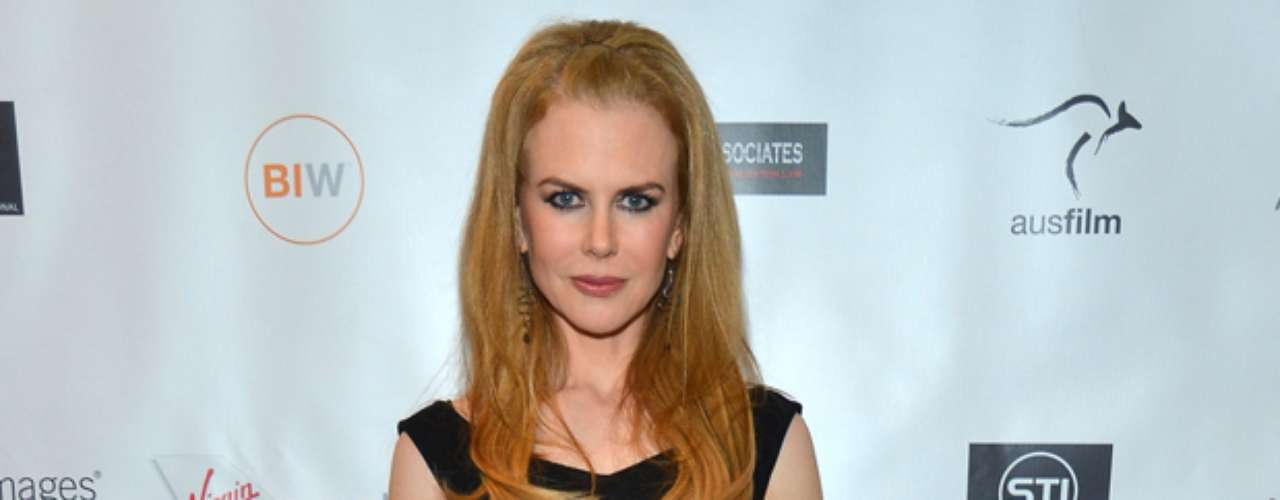 Nicole Kidman rocked red heels at \