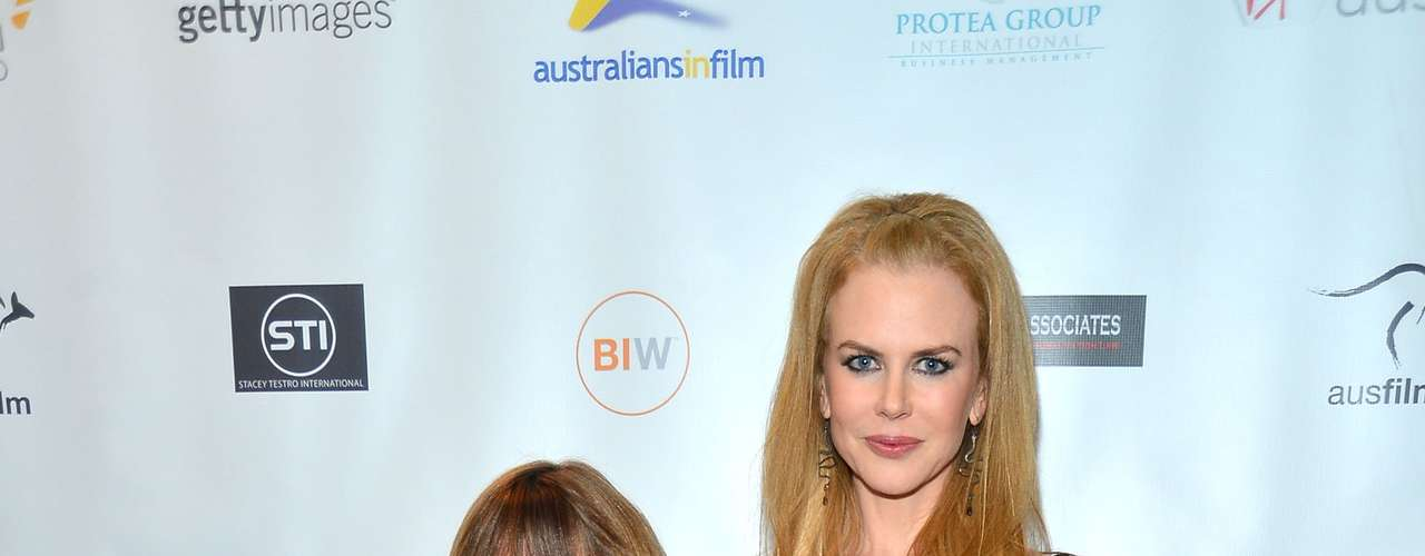 The screening included a Q&A that featured Nicole Kidman talking about the movie and answering questions from industry experts and fans.