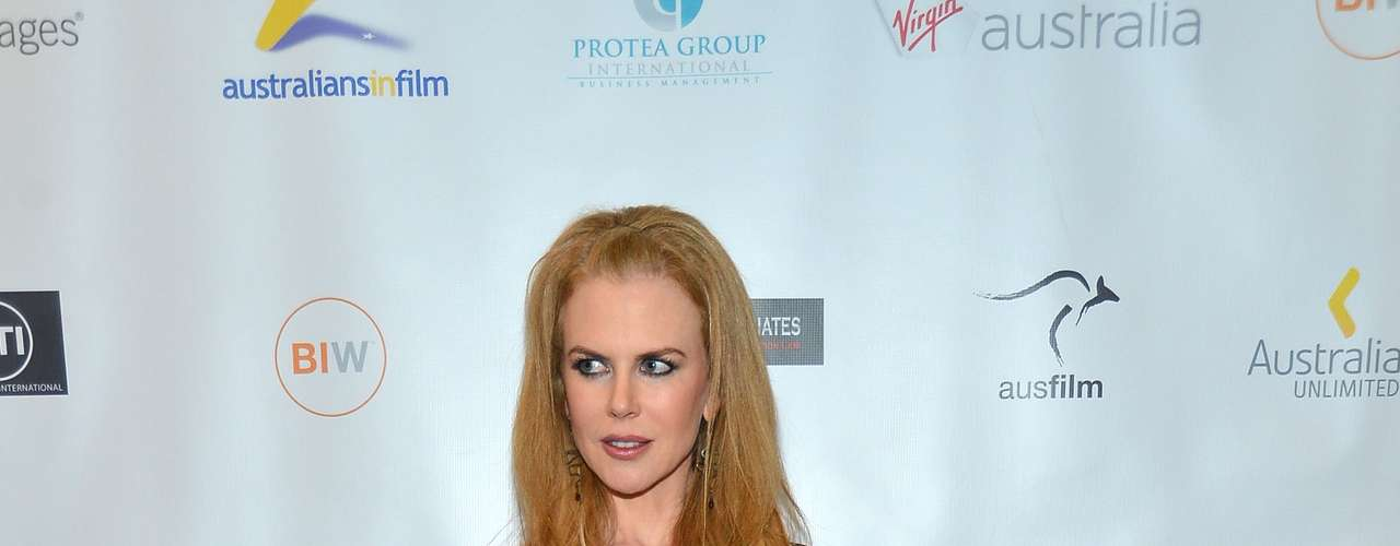 What did you think of Nicole Kidman's outfit? (Terra USA/Armando Tinoco)