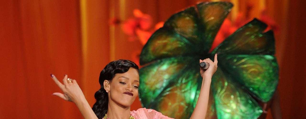 Una vez más, la cantante de Barbados encontró la excusa perfecta para el destape durante su participación en el \
