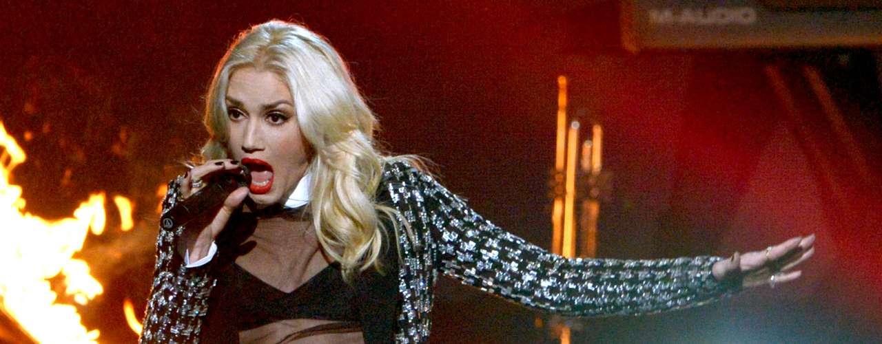 Gwen Stefani de No Doubt puso a mil las emociones en los \