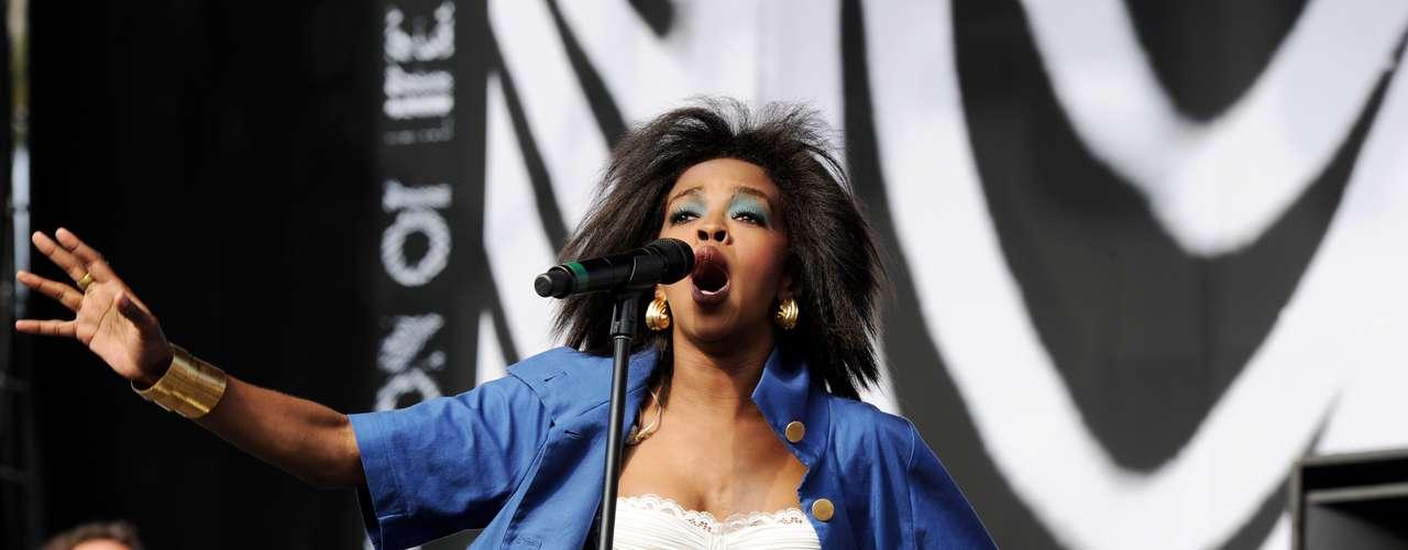 Lauryn Hill salió a su concierto en el \
