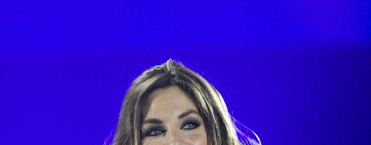 El brasier de Leyre Martínez, integrante de La Oreja de Van Gogh, se filtró mientras ella cantaba en los \