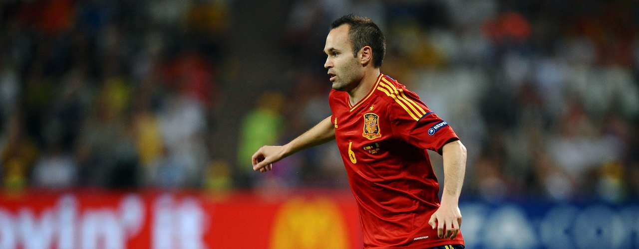 One of the stars of Spains Golden Generation, Andres Iniesta will look to win Spain the one title it is missing. He has already won two European Cups and a World Cup with the national team.