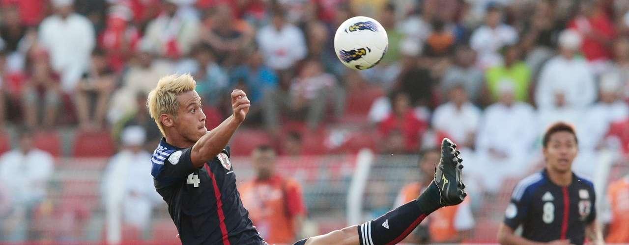 Jugador del CSKA Moscú, Keisuke Honda es la máxima figura de la selección de Japón, con la que obtuvo la Copa Kirin 2009 y la Copa Asiática 2011.