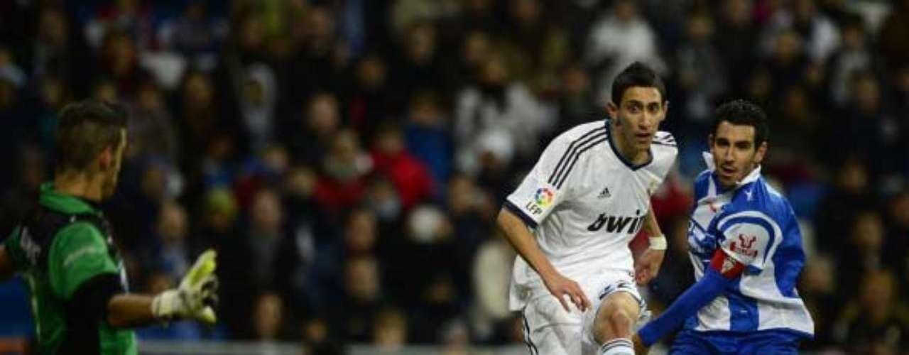 Ángel di María consigue adelantar al Real Madrid con una gran jugada