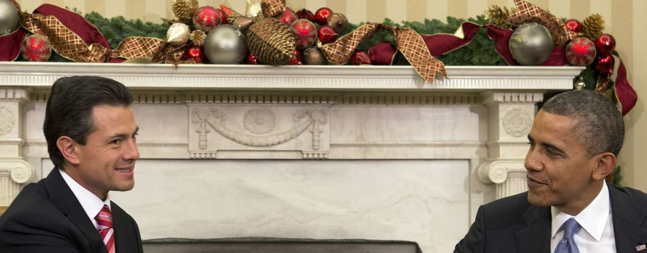 El presidente estadounidense, Barack Obama, se mostró convencido este martes de que logrará crear una fuerte relación personal con el mandatario electo mexicano, Enrique Peña Nieto, tras recibirlo por primera vez en la Casa Blanca.