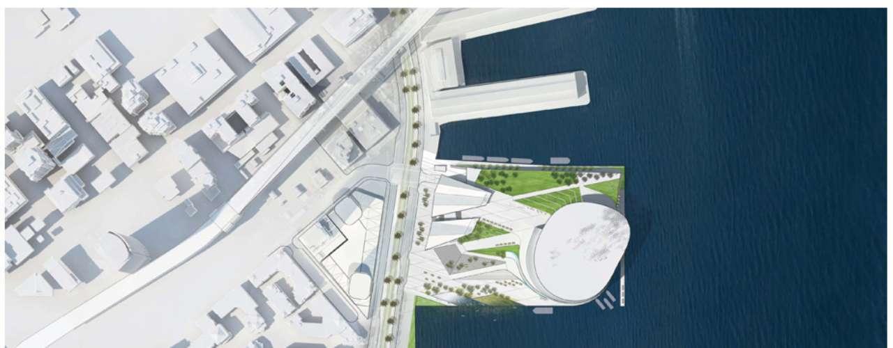 La empresas Snøhetta y AECOM serán las encargadas de la construcción.