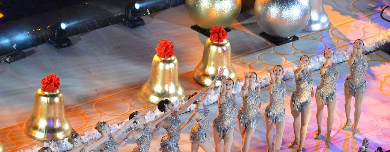 Las Rockettes que este año cumplen su 85 aniversario en el Radio City Music Hall
