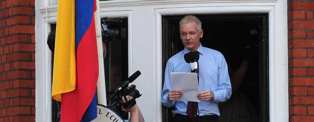 19 junio: Julian Assange, fundador del sitio Wikileaks, ingresó a la Embajada de Ecuador en Londres.