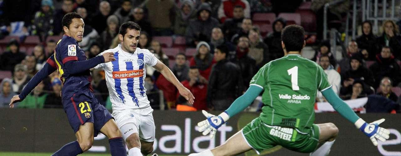 No obstante, Adriano no tardó mucho en igualar el marcador.