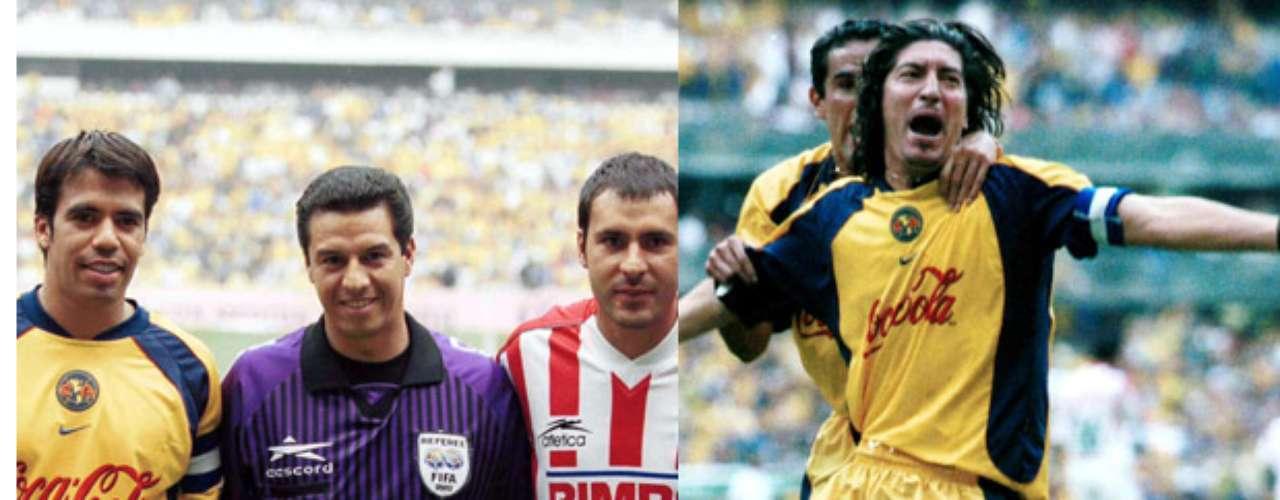 Armando Archundia fue el árbitro de la vuelta entre Necaxa y América, en el Verano 2002, y dio por bueno un gol de Iván Zamorano en claro fuera de lugar, que en ese momento representó el empate en el marcador global.