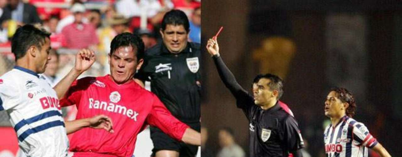 Monterrey y Toluca protagonizaron una final plagada de errores y malas decisiones arbitrales, el más perjudicado fue el equipo de Rayados. Fue en el torneo Apertura 2005 y los árbitros fueron Gilberto Alcalá y Marco Rodríguez.