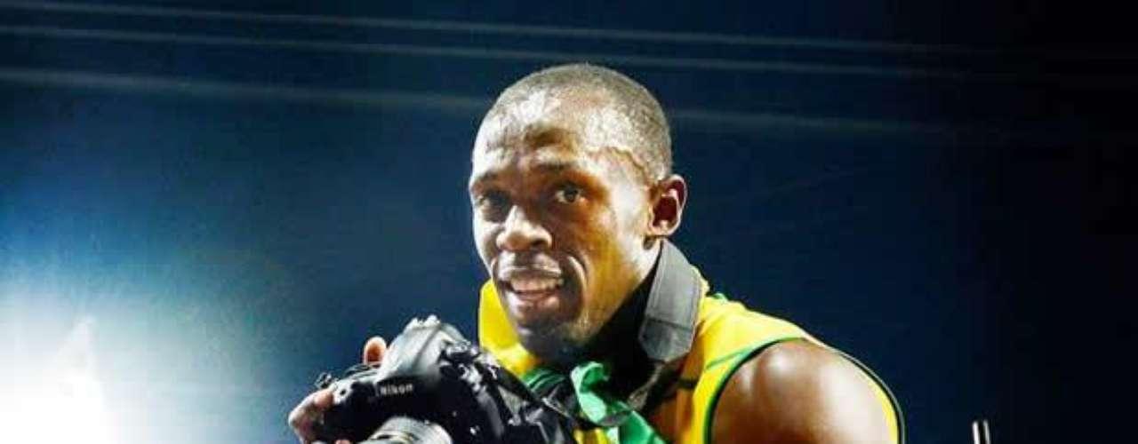 El gráfico Jimmy Wixtr, del diario sueco Aftonbladet, tuvo la fortuna que el jamaicano tomara su cámara y entregara imágenes imborrables para el mundo.