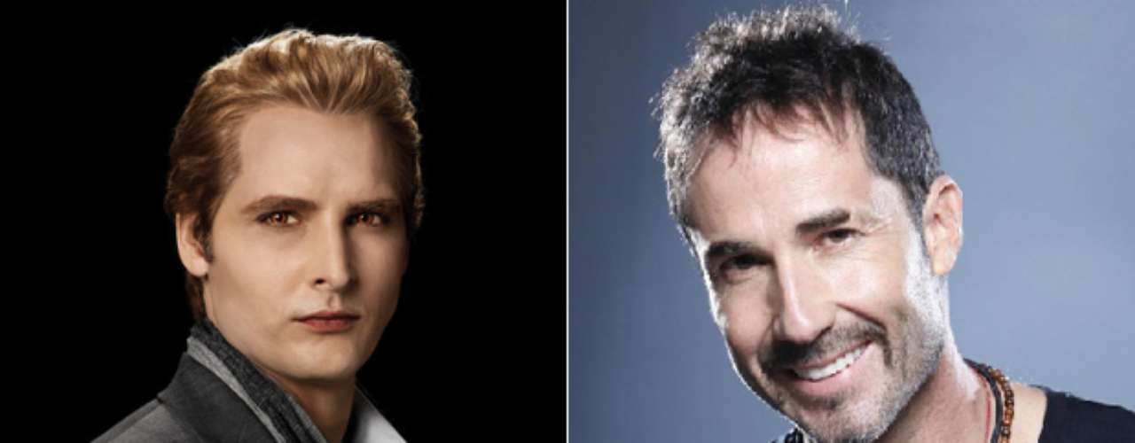 Encabezando la familia Cullen tenemos a Juan Carlos Vargas, quien en nuestra versión de 'Crepúsculo', sería el encargado de personificar a Carlisle Cullen.