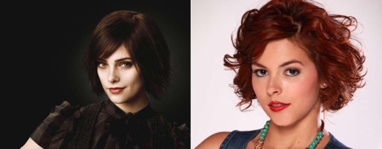 Julieth Restrepo, la ganadora a mejor actriz en los Premios Nacionales de Cine de 2008 por su papel en 'Al final del espectro' es nuestra elegida para tener las premoniciones de la familia Cullen al hacer el papel de Alice.