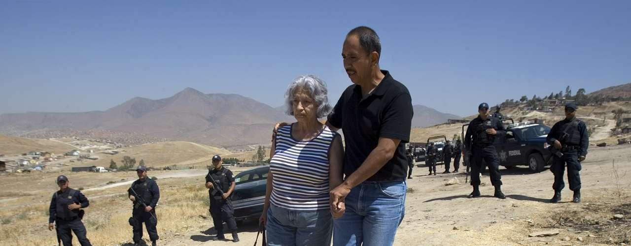 Desde que Felipe Calderón asumió la presidencia en 2006 han muerto cerca de 100,000 personas en la lucha contra el narco.