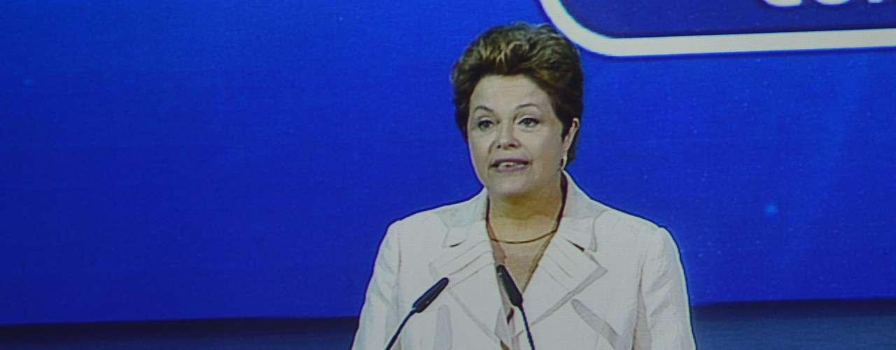 Durante el sorteo de la Copa Confederaciones, la cual se celebró en Sao Paulo, la presidenta Dilma Rousseff asistió y pronunció un discurso para abrir el evento.