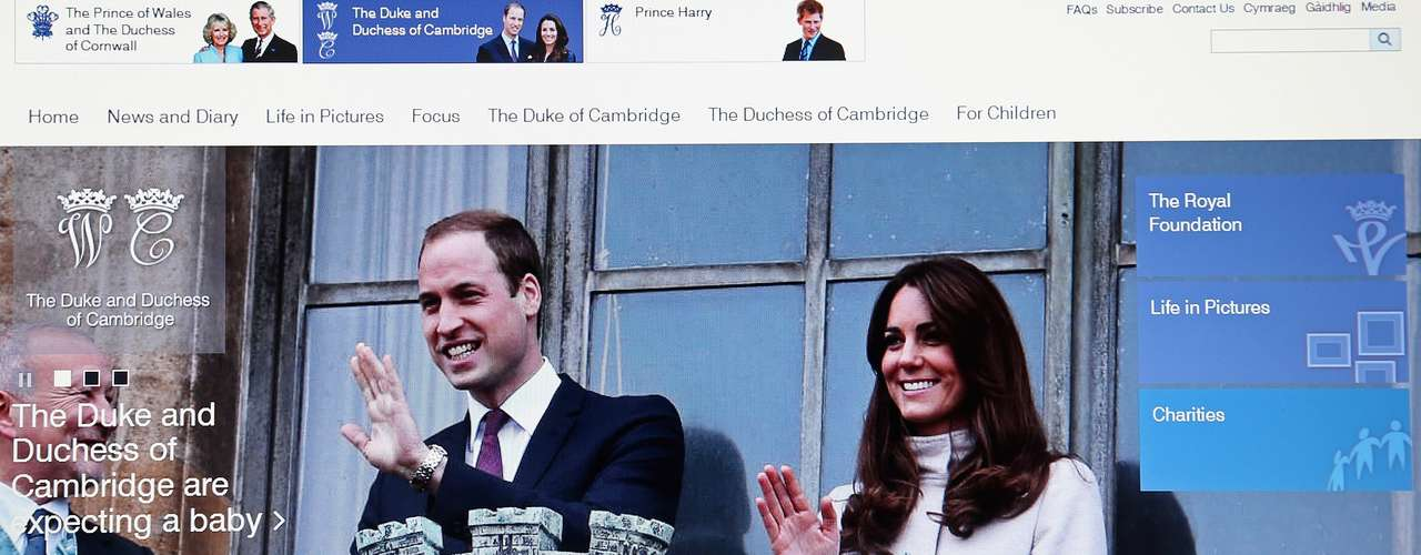 El príncipe Guillermo y la Duquesa Catalina están esperando su primer hijo a más de año y medio de casados